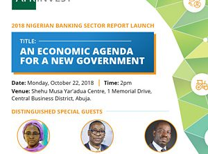 Afrinvest 2018 Banking Sector report Launch