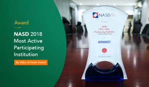 Afrinvest, NASD Award winner